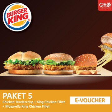 Burger King - Crispy TC + KCF + Mozza King Chicken Fillet