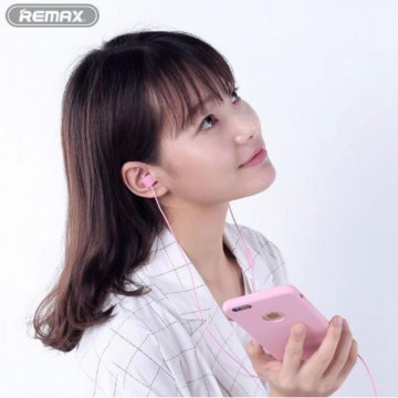Remax Earphone Colorful with Microphone - RM-502