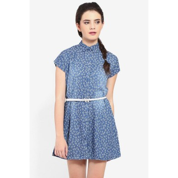 Morphidae Dress + Belt Melly Hs Medium-AKKSMPDL0156