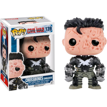 Funko Pop! Crossbones [Unmasked] (Marvel Captain America: Civil War)