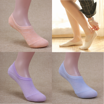 Kaos Kaki Pendek Katun, Invisible / Hidden Socks. Anti Slip. v1