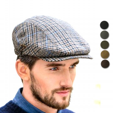 D & D Hat Collection Topi Pet Dewasa Bahan Kanvas / Flatcap