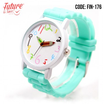Geneva colorful Rubber strap watches - FINX -176