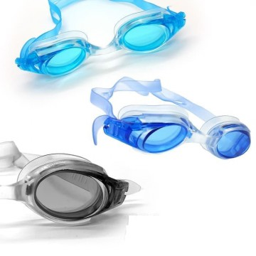 Kacamata Renang Dewasa Simple Ringan Swiming Googles Speeds 1137 - Biru Muda