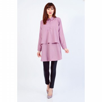 Jfashion Long Sleeve Ruffles Blouse