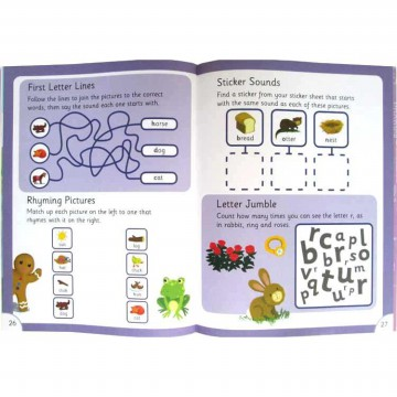 [HelloPandaBooks] The Gingerbread Man Phonic Readers Level 1 (Age 4-6 years) with 75 stickers