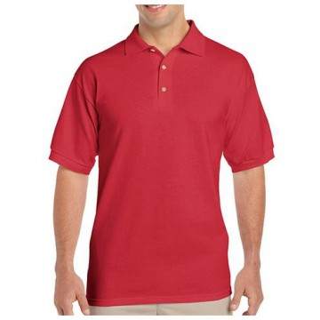 Polo Shirt Import Gildan Soft Style Merah