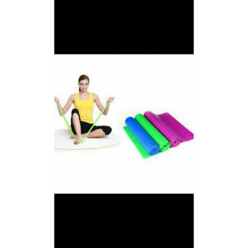TALI KARET YOGA / FITNESS STRETCH BANDS / LATEX FLAT RESISTANCE BANDS
