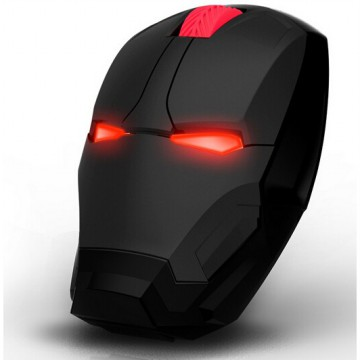 TaffWare Mouse Wireless Optical Iron Man 2.4Ghz