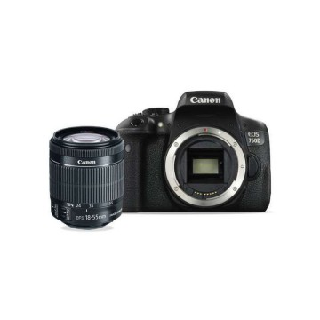 Canon Eos 750D WIFI 18-55 IS STM - 24.2 MP - Hitam