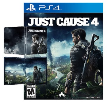 Just Cause 4 Steelbook Edition Game PS4 (R3)