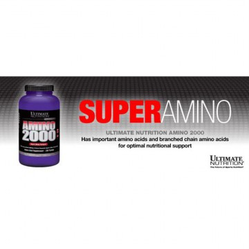 Amino 2000 150Tabs Ultimate Nutrition / Whey Amino