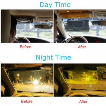 Car Hd Vision Visor Day And Night Lensa Mobil