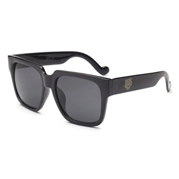 Oila Kacamata Hitam Fashion Tiger Head Sunglasses (4C4) jgl092