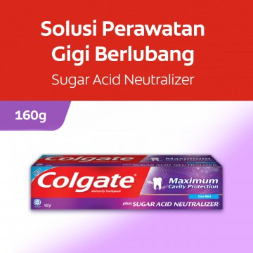 Colgate Maximum Cavity With SAN Cool Mint Toothpaste/Pasta Gigi 160g