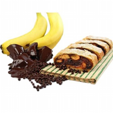 ASLI STRUDEL MALANG - Chocolate Banana / Cheese / Apple