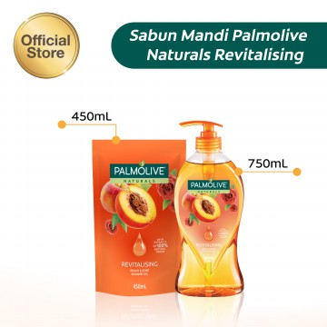Palmolive Aromatheraphy Revitalising Shower Gel Sabun Mandi 450ml - Twinpack