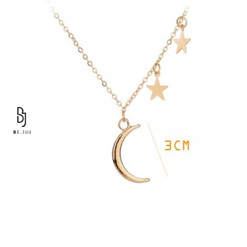 BE.JUU Kalung The Beauty Of The Night Korean Jewelry