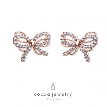 Cocoa Jewelry Anting Rose Gold Banyak Model | Material New Brass