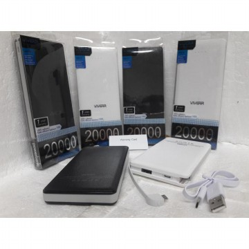 Powerbank Slim Original VIVERR 20.000mAh