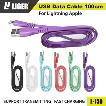 LIGER L-150 Kabel Data Fast Charging Original - iPhone