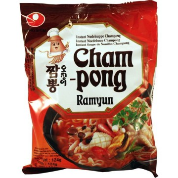 Nongshim Champong Ramyun (Seafood) 124 GR