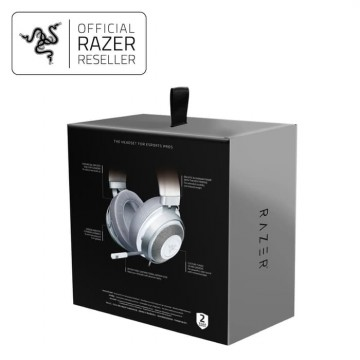 Razer Kraken Mercury Edition - Multi Platform Wired Gaming Headset