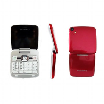 Strawberry ST99 Whisky Flip Phone 2 Sim Card Fashion Desain