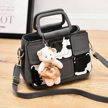 [BEST SELLER] TAS FASHION IMPORT T566   BONEKA (10 WARNA)| PU LEATHER|(22x16)cm|TPjg&RESLETING:ADA