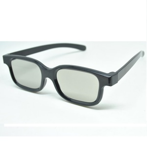 LCD Kaca Mata 3D Plastic Polarized 3D glasses fLG TV Real 3D Cinema
