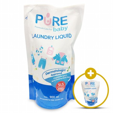 Pure Baby Laundry Liquid 900 ml FREE 450ml