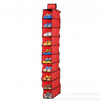 Rak Sepatu Gantung 10 Tumpuk | Hanging Storage Shoes 10 Grid HSO