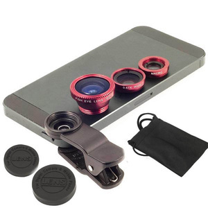 FISH EYE 3IN1 LENS (FISH EYE, MAKRO DAN WIDE ANGEL LENS)