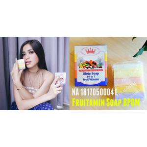 SABUN ] Sabun Fruitamin Bpom / Gluta Soap 10in1 Fruitamin