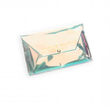 #FLAWED Holographic Pouch