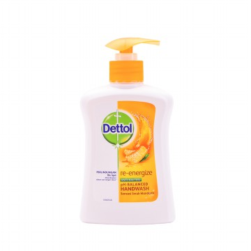 Dettol Hand Wash Re-energize 225 ml Pump