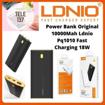 Powerbank Turbo Original 10000Mah LdnioPQ1010 Fast Charging