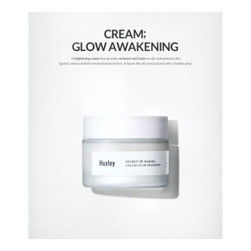 [BPOM] Huxley Secret of the Sahara Cream Glow Awakening 50ml