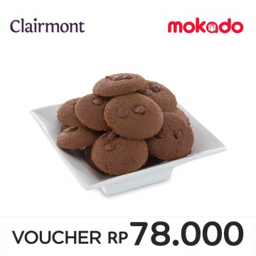 CLAIRMONT - Double Choco Chip Small