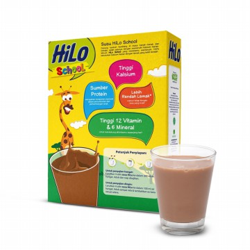 HiLo School Chocolate 750 gram