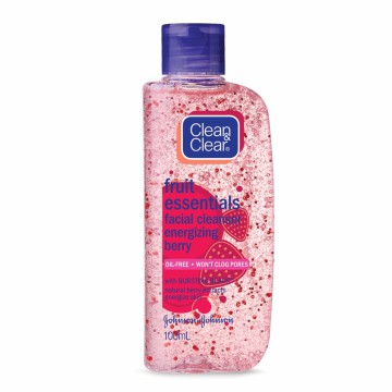 Clean & Clear Energizing Berry Wash 100ml