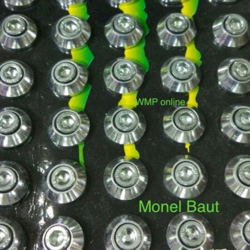 Monel Baut L 10 Aluminium 1pack Isi 40pc