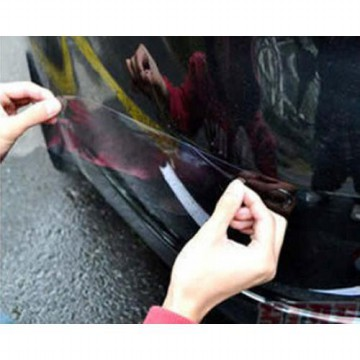 Car Bumper Protection Sticker Set of 4 ( stiker pelindung bumper mobil )