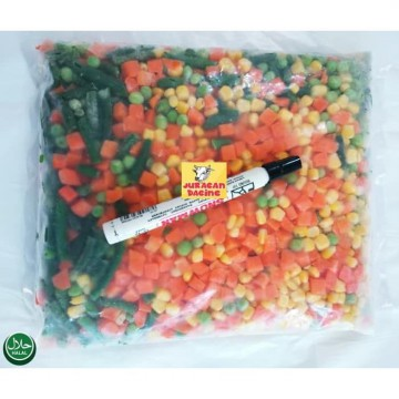 Vegetables mix 4 - 1 kg - Super high quality