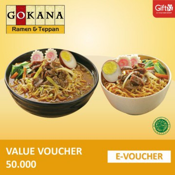 Gokana Value 50.000 Voucher