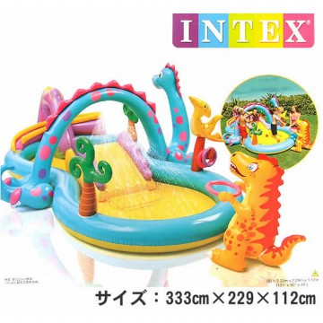 Kolam intex dinoland play center - 57135 / Kolam Renang Anak-Anak