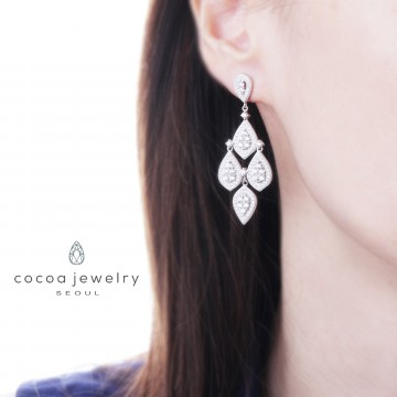Cocoa Jewelry Love Rain Earring / Anting Love Rain  - No Box