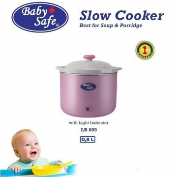 BABY SAFE BABY SLOW COOKER WITH LIGHT INDICATOR LB009