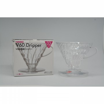 e coffee - Hario V60 Dripper 03 Clear VD-03T