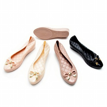 Ribbon Jelly flat shoes size 37-40